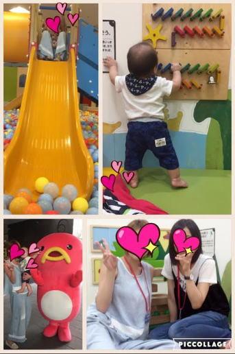 姪っ子ちゃんと娘と孫と一緒に梅田で買い物