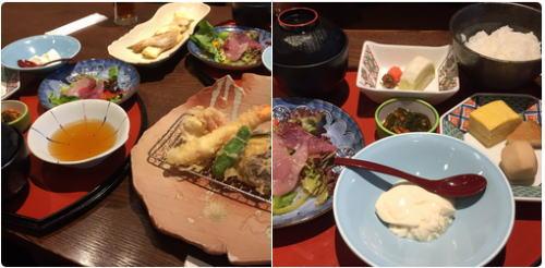 大阪府教育会館内の旬の素材レストランたかつふじのランチ