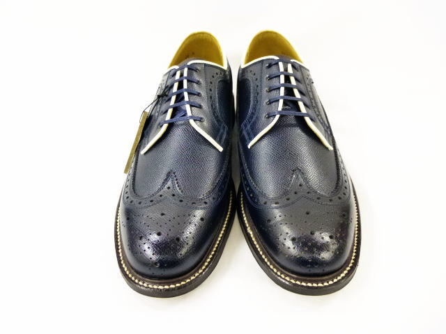 GLAD HAND×REGAL AMERICAN BROGUE-SHOES NVY