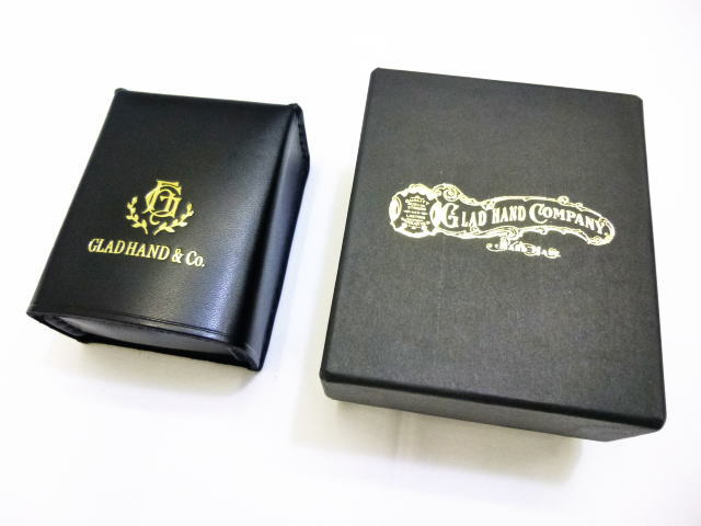 GLAD HAND GH LEATHER-CIGARETTE CASE
