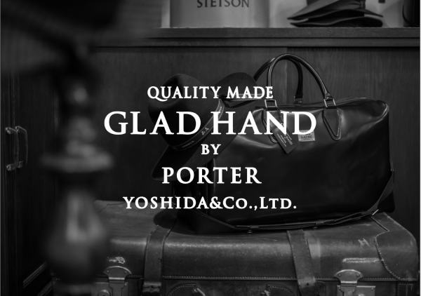 GLAD HAND×POTER 2016 AUTUMN&WINTER