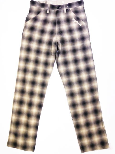 GANGSTERVILLE MOJO CHECK-PANTS