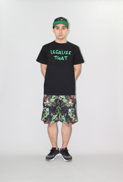 INTERFACE FLOWER MESH SP LEGALIZE TEE
