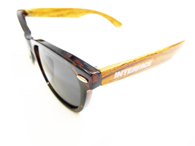 INTERFACEWOOD PATTERN SUNGLASS