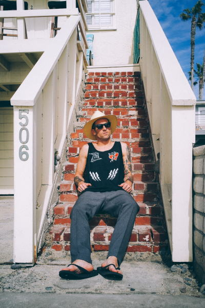 SOFTMACHINE MAX TANK LAVEY PANTS HARBOR HAT LURK GLASS CARVES SANDAL