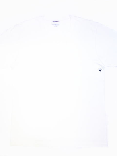 INTERFACE CROSS V NECK TEE