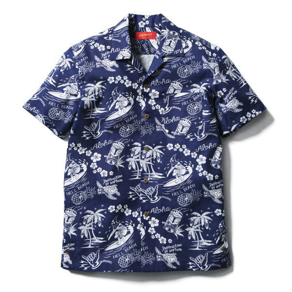 SOFTMACHINE HELL BEACH SHIRTS S/S