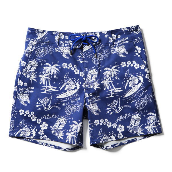 SOFTMACHINE HELL BEACH SHORTS