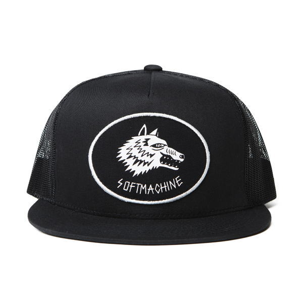 SOFTMACHINE WHITE HEAD MESH CAP