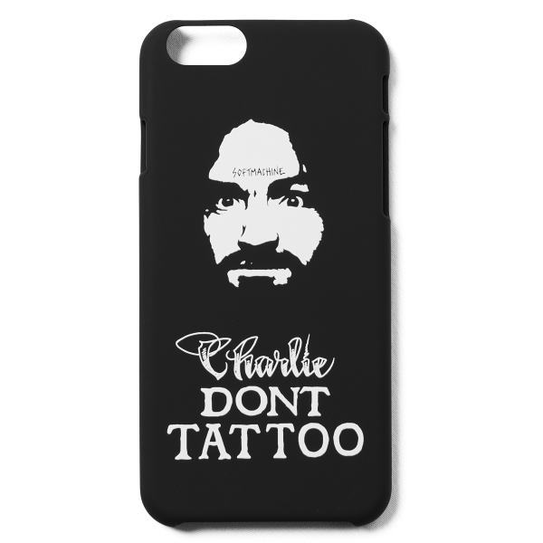 SOFTMACHINE CHARLIE i Phone CASE