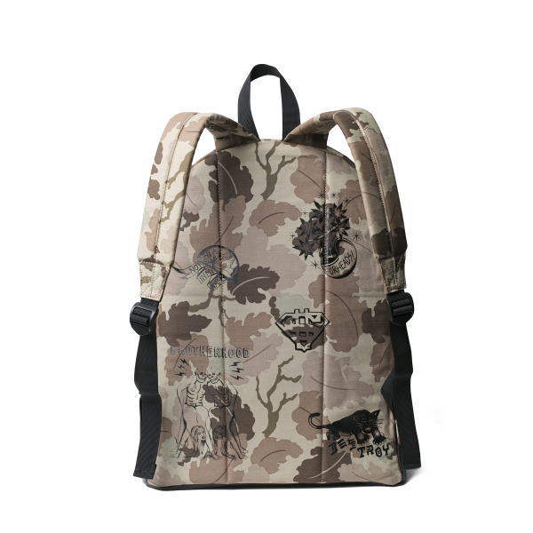 SOFTMACHINE SCRAWL CAMO BACK PACK