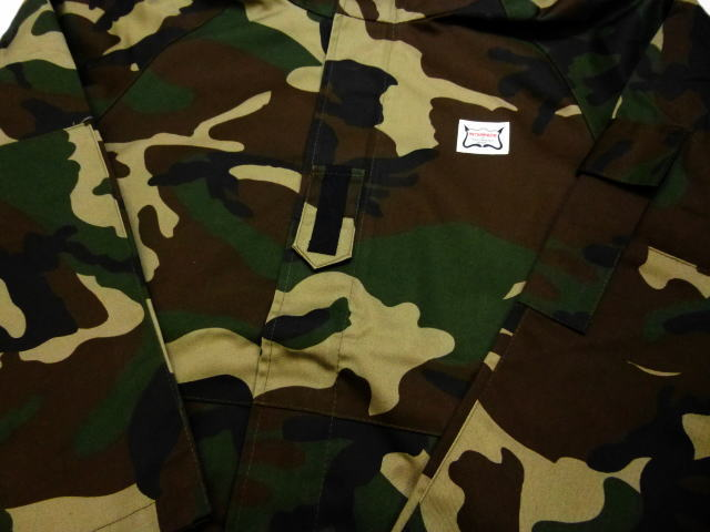 INTERFACE HOODED CAMO JKT