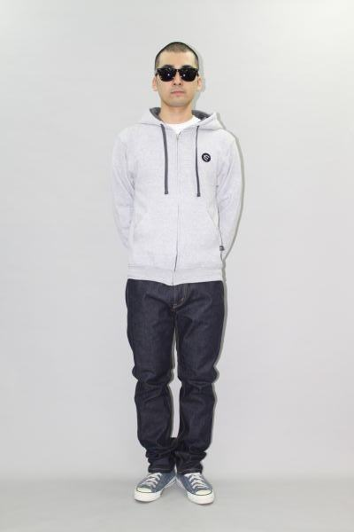 INTERFACE PITCHFORK PATCH 9oz F/Z PARKA DENIM PT Type -S