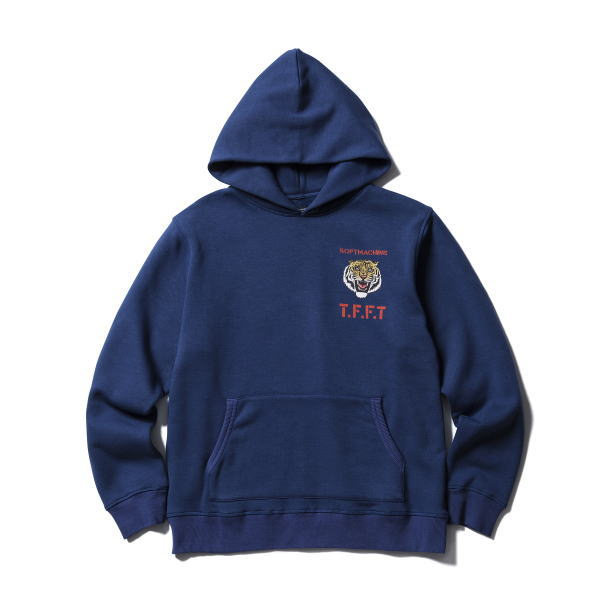 SOFTMACHINE SNARL EMBLEM HOODED