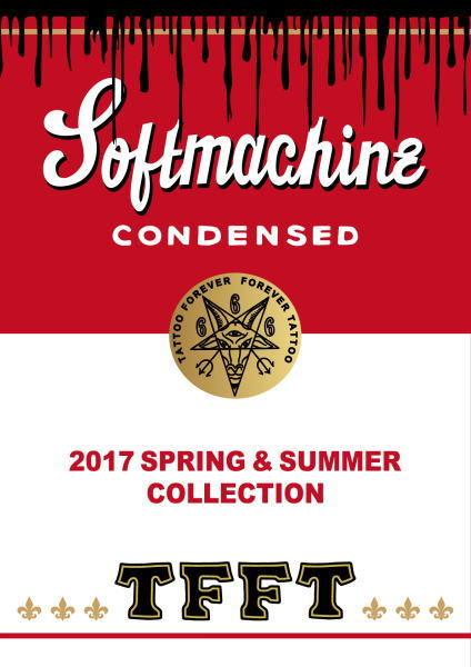 SOFTMACHINE 2017 SPRING&SUMMER