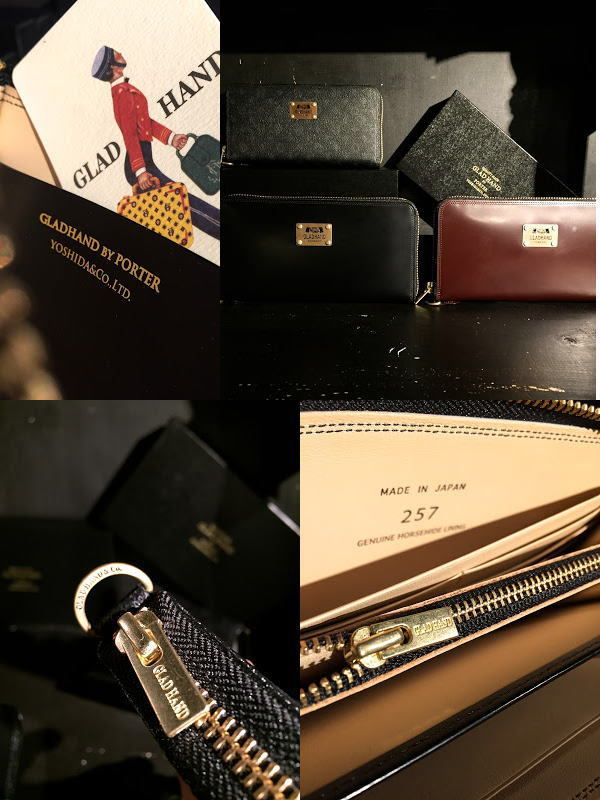 GLAD HAND×POTER GH-BELONGINGS ZIP WALLET