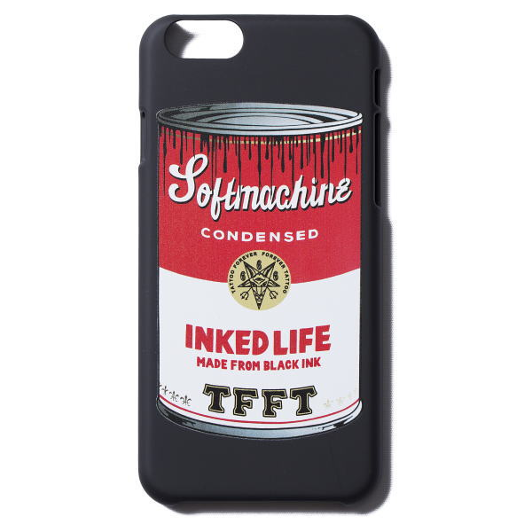 SOFTMACINE BLACK SOUP i Phone CASE