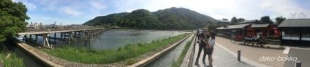 嵐山 渡月橋 201605