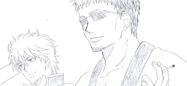 長谷川さん&銀さん