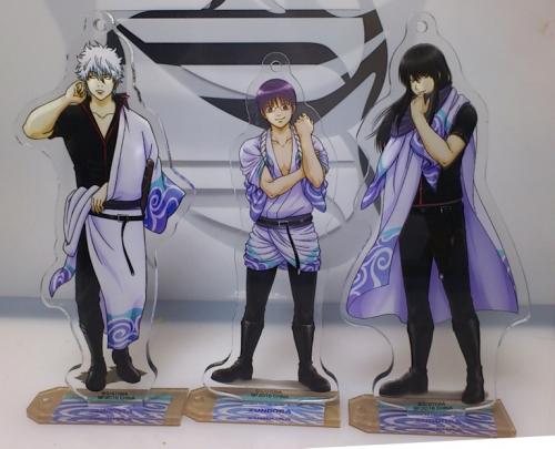 銀魂 スタンド付ビッグアクリルプレート ~ズンボラ星人のジャージ王決定戦ンンンッ!!!~ 1