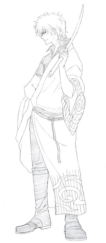 坂田銀時 銀さん 銀魂