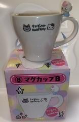 ちびギャラリー×キティ先輩の一番くじマグカップ