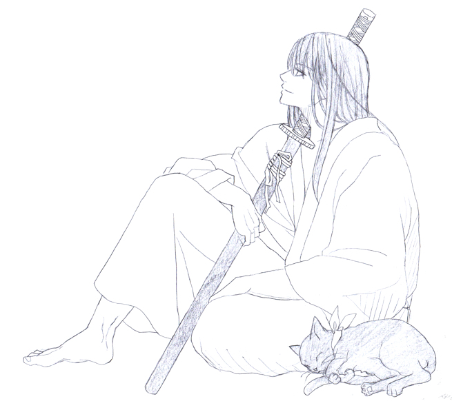 桂小太郎 ヅラにゃんこ