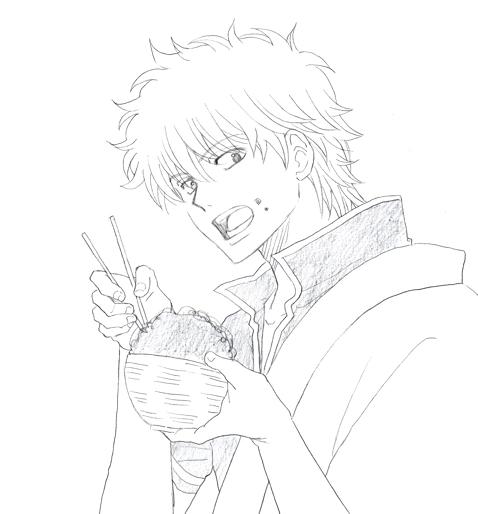 宇治銀時丼 銀魂 銀さん