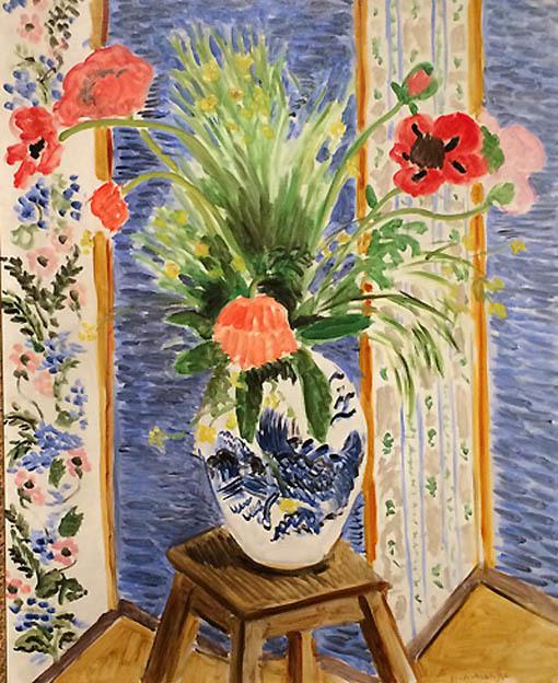 20161108 デトロイト美術館展 マチス ケシの花 1919 18㎝