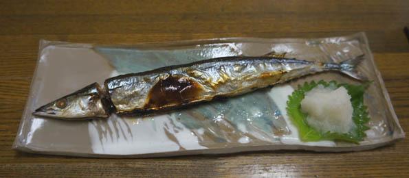 20161108 秋刀魚皿 21㎝ DSC09199