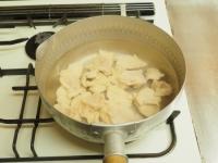 鶏むね肉とアボカドの刺身風11