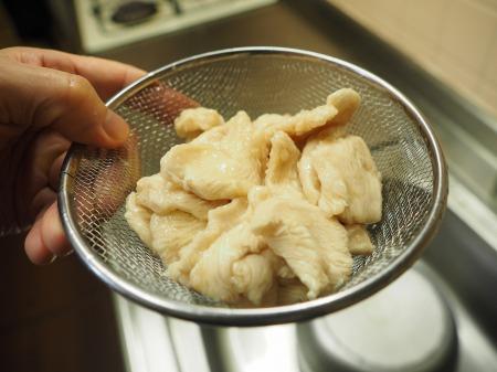 鶏むね肉とアボカドの刺身風14