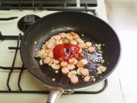 ナポリタン風ケチャップご飯14
