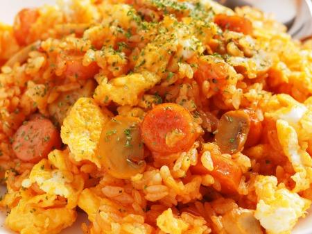 ナポリタン風ケチャップご飯42