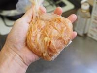 鶏むね肉の焼肉スパゲティ05
