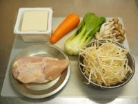 鶏むね肉ともやしの水炊き風01