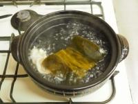 鶏むね肉ともやしの水炊き風15