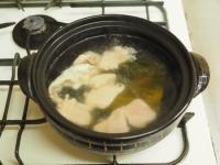 鶏むね肉ともやしの水炊き風16
