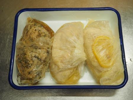 サラダチキンの作り方19