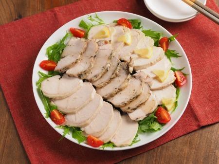 サラダチキンの作り方28