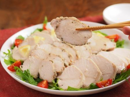 サラダチキンの作り方42
