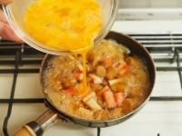 焼き麩のふわふわ卵丼15