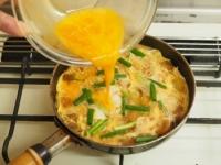 焼き麩のふわふわ卵丼18