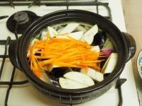 鶏むね肉と茄子の生姜味噌16