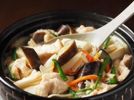 鶏むね肉と茄子の生姜味噌34