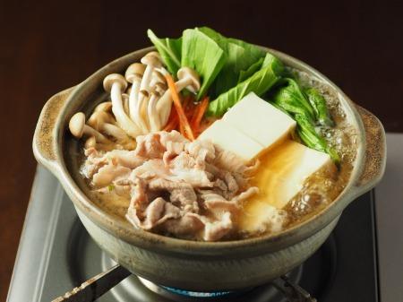 豚こま肉とチンゲンサイの麺つ21