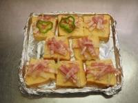 ピザ風フレンチトースト21
