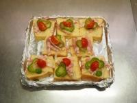 ピザ風フレンチトースト22