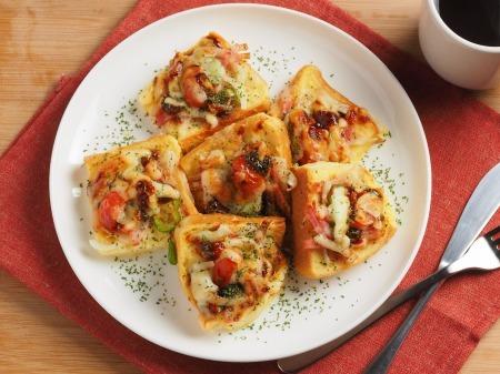 ピザ風フレンチトースト31
