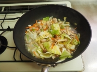 野菜特盛り海鮮ちゃんぽん12